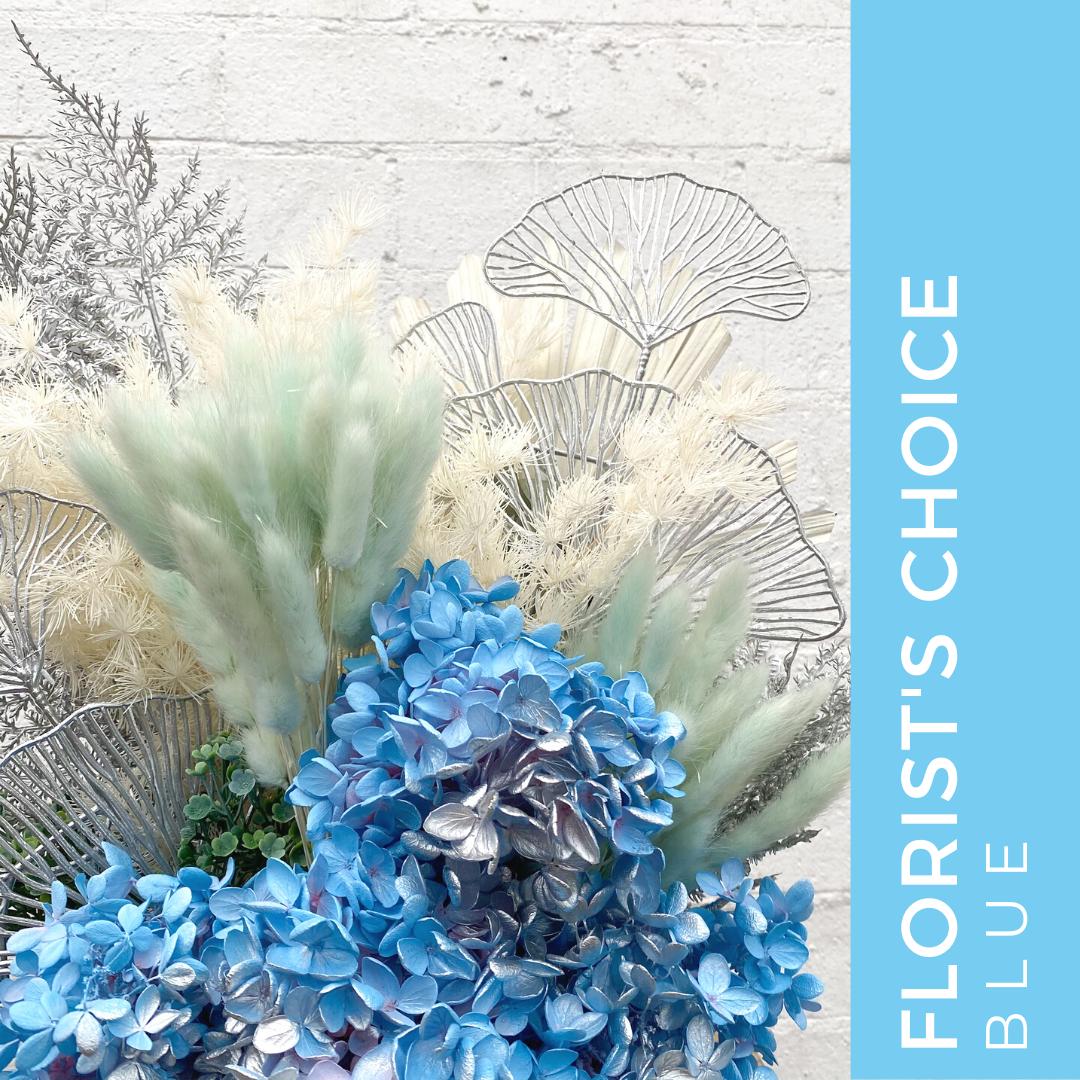 FLORIST CHOICE BLUE