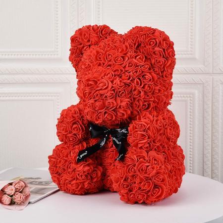 Everlasting Red Rose Bear