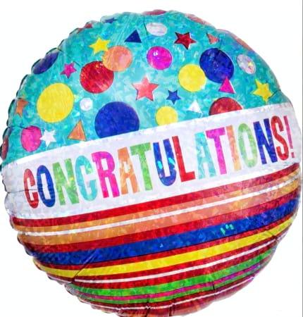 Congratulations Balloon